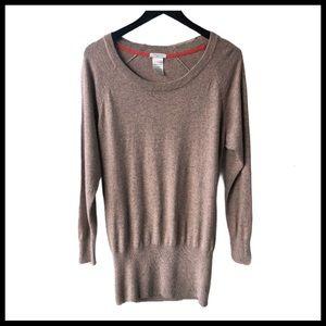 ARITZIA TALULA Tunic Cashmere-Blend Sweater